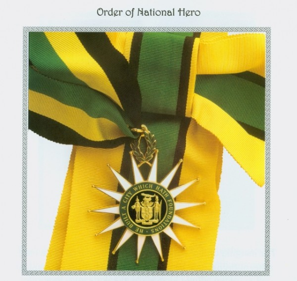 Order Of National Hero Jamaica Information Service