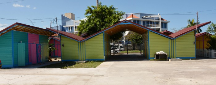 Renovated shops at the Harbour Street Craft Market in Montego Bay. The project, which represents a partnership among the St. James Parish Council, the Tourism Enhancement Fund (TEF), and the Tourism Product Development Company (TPDCo), comes with a price tag of just over $51 million.