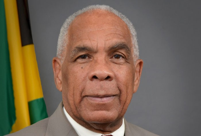 Minister of Transport, Works and Housing, Dr. the Hon. Omar Davies.