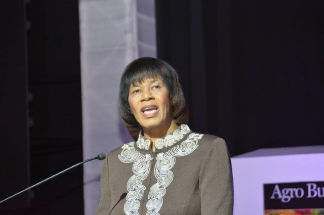 Prime Minister, the Most Hon. Portia Simpson Miller, addresses the opening of the Jamaica Investment Forum 2015, held this morning (March 11) at the Montego Bay Convention Centre in St. James.