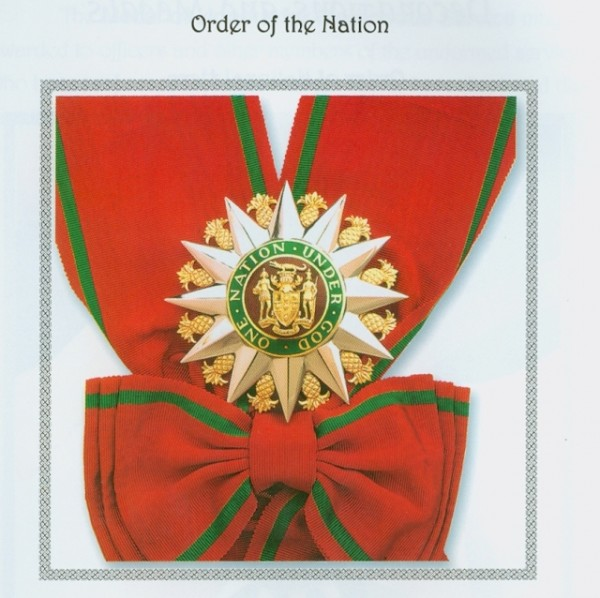 order of the nation on jamaica information service