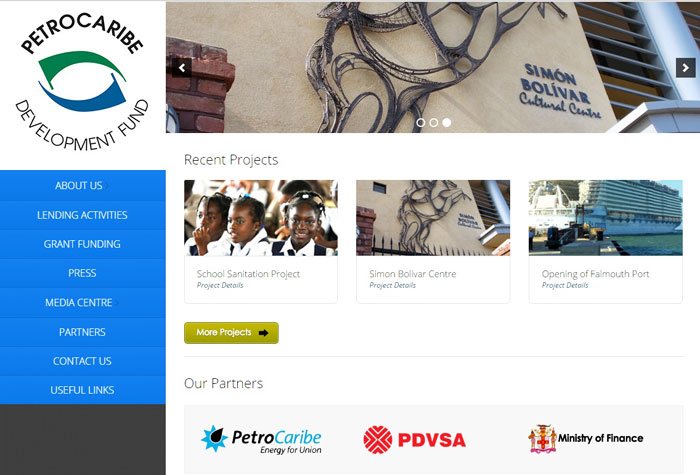 The PetroCaribe Development Fund (PDF) will launch its new website on January 19, 2015 and visitors will be invited to explore its content at petrocaribejm.com or petrocaribejm.org.