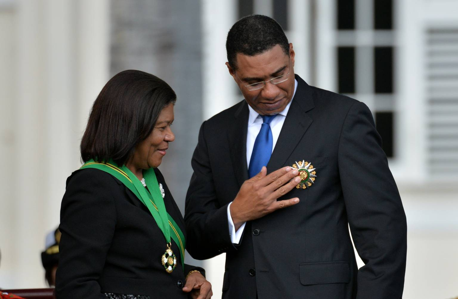Prime Minister, the Most Hon. Andrew Holness