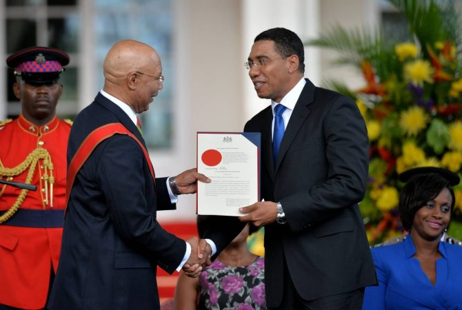 Governor-General, His Excellency the Most Hon. Sir Patrick Allen