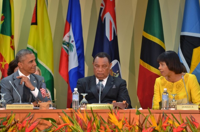 Opening Statement by The Most Honourable Portia Simpson Miller, ON, MP Prime Minister of Jamaica, CARICOM-USA Summit