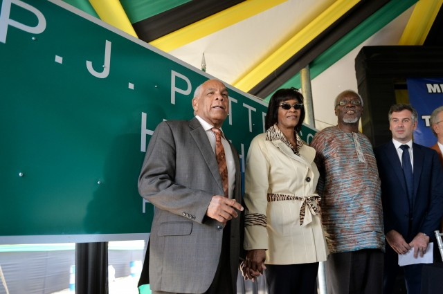 HIGHWAY NAMED TO HONOR FORMER PRIME MINISTER P.J. PATTERSON!
