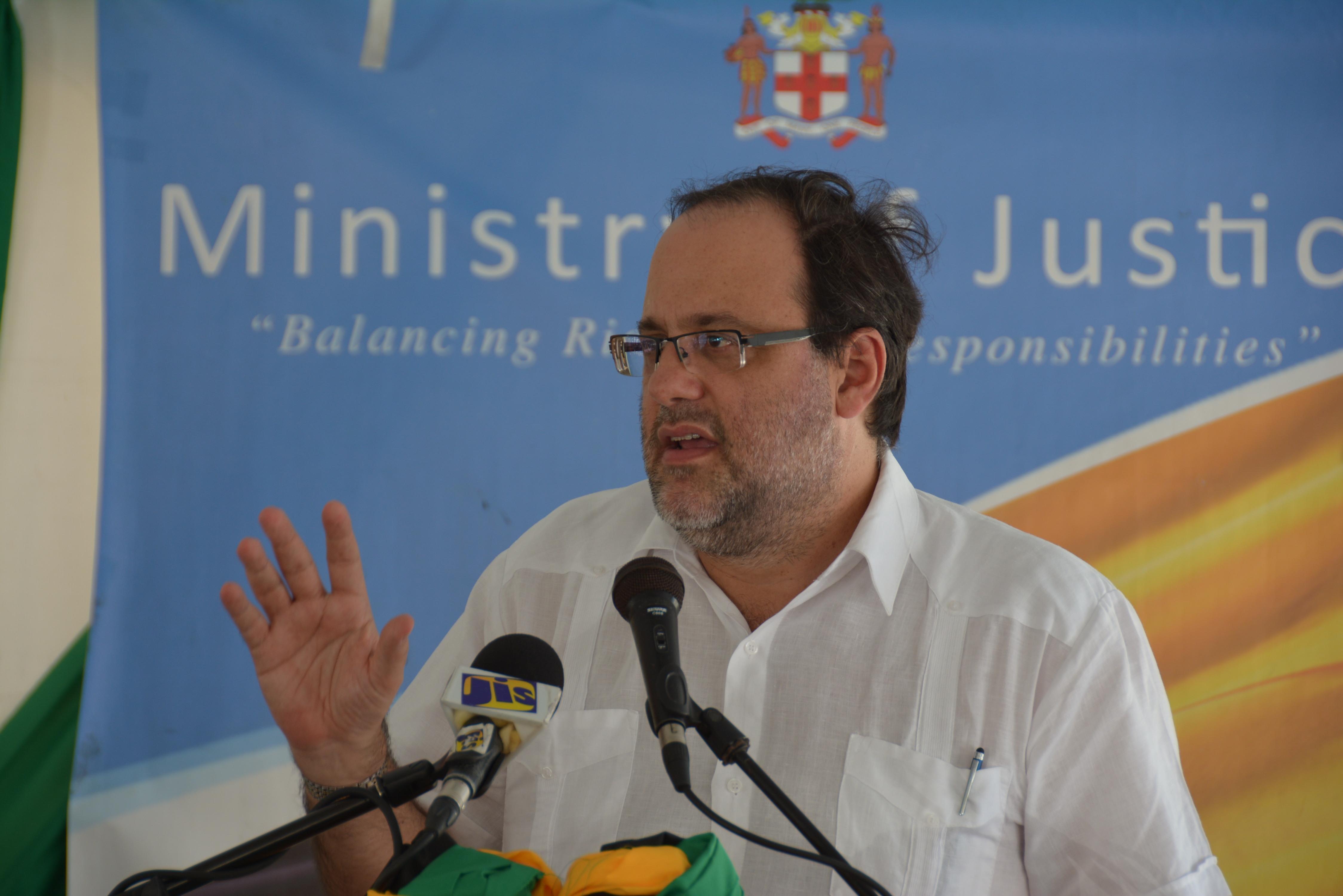 Montego Bay Restorative Justice Centre opening