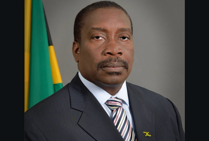 Minister of National Security, Hon. Robert Montague.