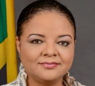 Minister with Responsibility for Information, Senator the Hon. Sandrea Falconer.