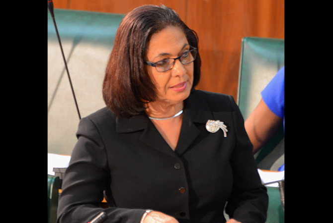 Minister of Labour and Social Security, Hon. Shahine Robinson, tables Instruments adopted from the International Labour Organization's (ILO) Annual General Conferences in Parliament on Tuesday (September 13).