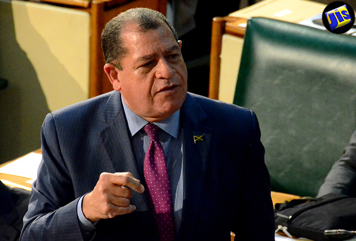 Minister of Finance and the Public Service, Hon. Audley Shaw, addresses Tuesday's (July 26) sitting of the House of Representatives.