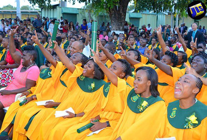 St. Jago High Graduation 2016 - Jamaica Information Service