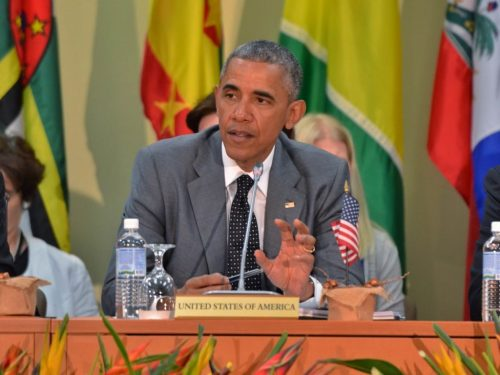 US President Obama Visits Jamaica