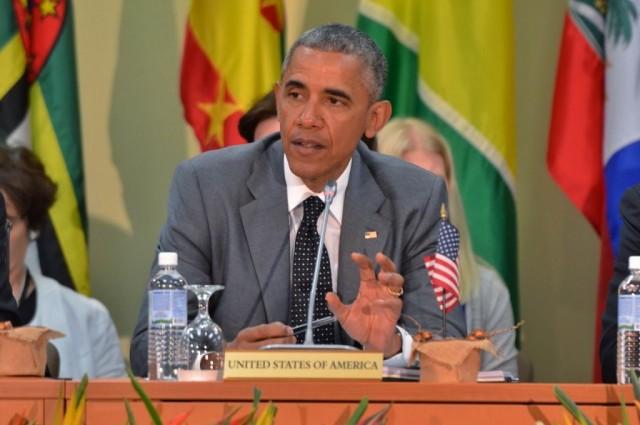 US President Obama Visits Jamaica