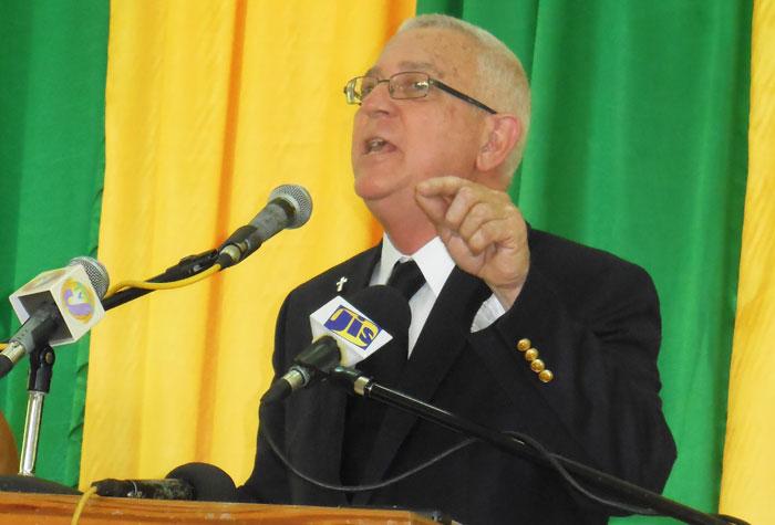 Education Minister, Hon. Rev. Ronald Thwaites (File)