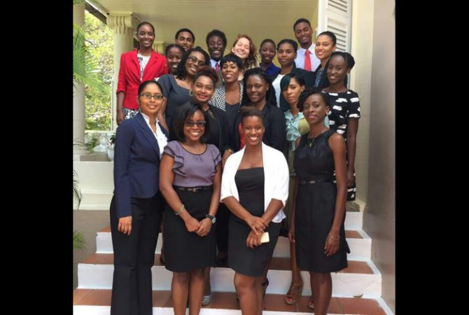 Students attending the University of the West Indies, Cave Hill Campus in Barbados recently visited Jamaica under the CARICOM Secretariat's student exchange programme which is geared towards exposing CARICOM nationals on the opportunities to work, travel and do business in the region.