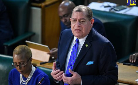 Minister of Finance and Public Service, Hon. Audley Shaw, opens the 2018/2019 Budget Debate in the House of Representatives on March 8.