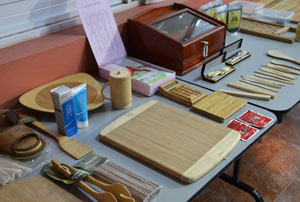 Bamboo products on display by the Bureau of Standards (BSJ), which is spearheading the renewed thrust to revive the bamboo industry.