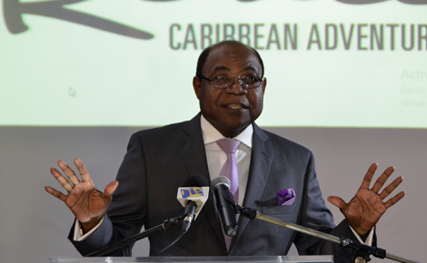 Minister of Tourism, Hon. Edmund Bartlett