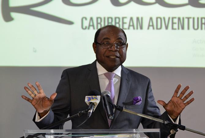 Minister of Tourism, Hon. Edmund Bartlett