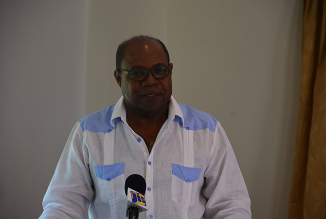 Minister of Tourism, Hon. Edmund Bartlett.