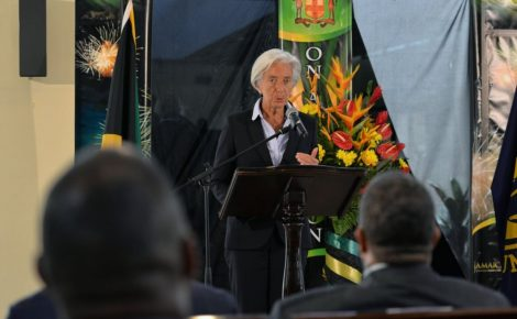 IMF Managing Director Visits Jamaica