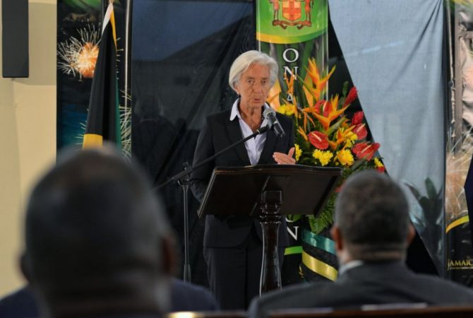 IMF Managing Director Visits Jamaica