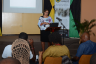 Cannabis Licensing Authority Chairperson, Hyacinth Lightbourne, addressing a recent ganja grower stakeholders consultation at Jamaica Promotions Corporation (JAMPRO) auditorium, in New Kingston.