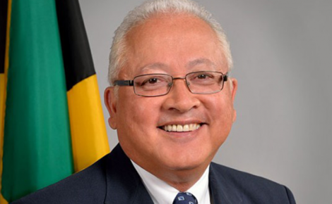 Minister of Justice, Hon. Delroy Chuck.