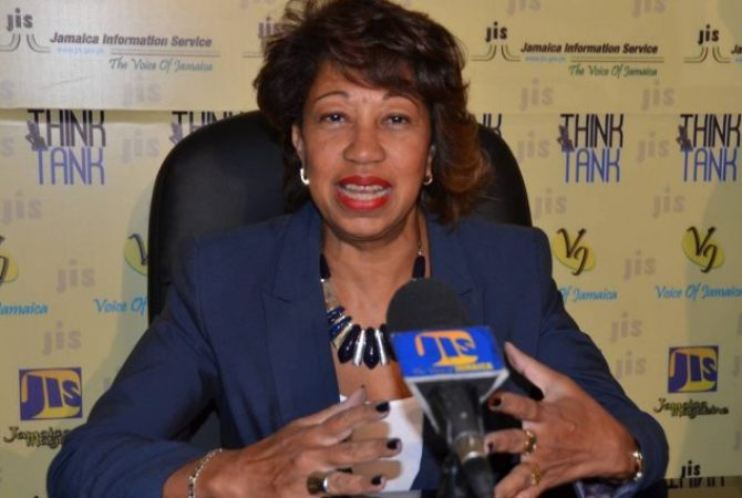 President of Jamaica Promotions Corporation (JAMPRO), Diane Edwards.