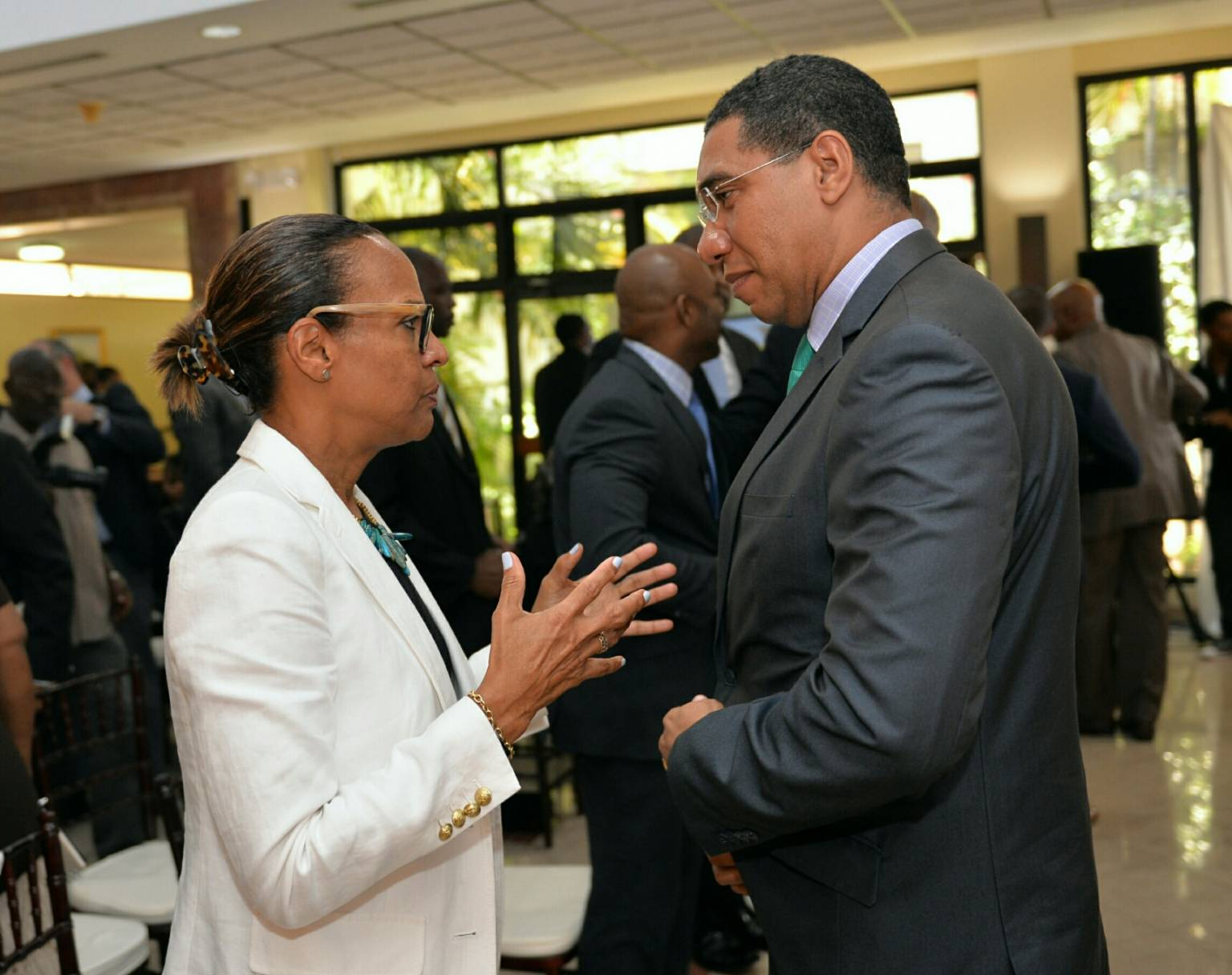 Jamaica Looking To Establish Regions First E Government System Pm