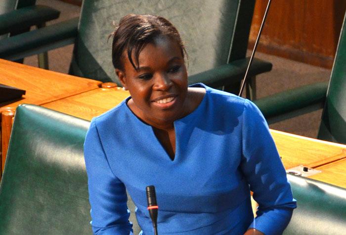 Senator Sophia Frazer-Binns. (FILE)
