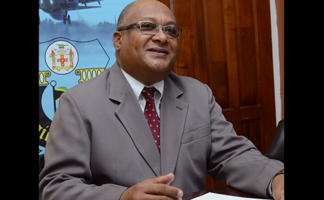Chief Executive Officer of the Jamaica Customs Agency (JCA) and Commissioner of Customs, Major Richard Reese.