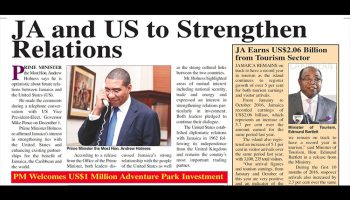 Ja and US to Strengthen Relations