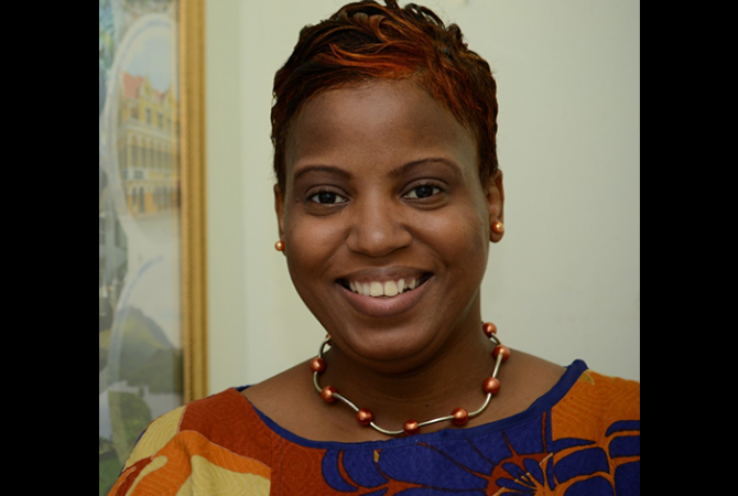 Principal Director of Culture in the Creative Industries and Policy Division of the Ministry of Culture, Gender, Entertainment and Sport, Dr. Janice Lindsay.