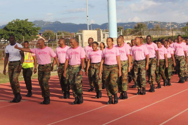 JDF Joins Battle for Breast Cancer Cure - Jamaica Information Service