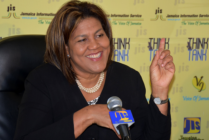 Executive Director of the Jamaica Intellectual Property (JIPO), Lilyclaire Bellamy.
