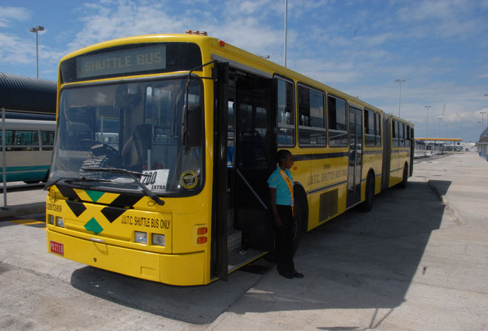Shuttle buses will be available to take holiday shoppers from the parking area at Kings House to the Half-Way-Tree Transport Centre and to The Ward Theatre in Downtown Kingston.
