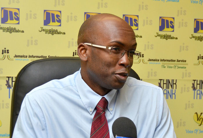 Consultant Gastroenterologist at the University Hospital of the West Indies Dr. Mike Mills, explains at a JIS Think Tank on March 4 that through screening, colon cancer can be identified at an early stage and interventions made to prevent complications.