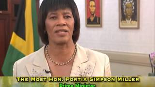 2015 National Heroes Day Message By The Most Hon. Portia Simpson Miller, ON, MP