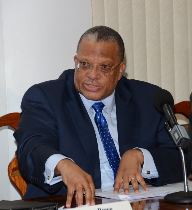 Minister of Finance and Planning, Hon. Dr. Peter Phillips. (FILE)