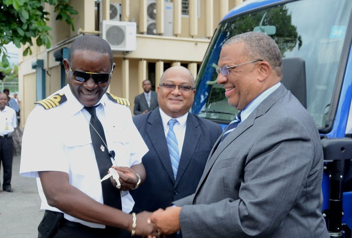 Customs continues to improve business processes jamaica for Jamaica customs duty on motor vehicles