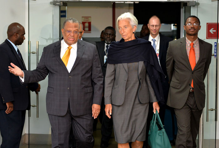 Statement by Ms  Christine Lagarde After Meeting with Prime
