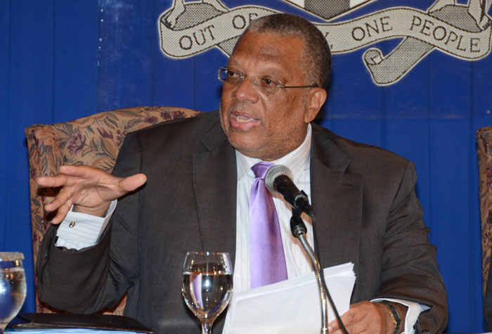 Finance and Planning Minister, Dr. the Hon Peter Phillips. (FILE)