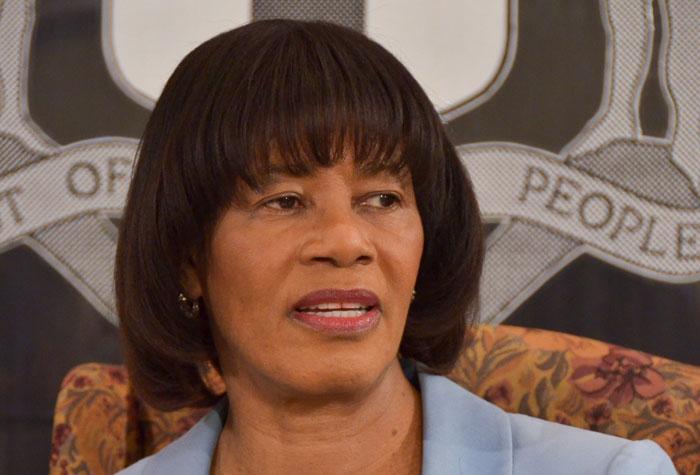 Prime Minister, the Most Hon. Portia Simpson Miller. (FILE)