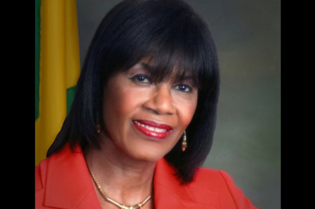 Prime Minister the Most Hon. Portia Simpson Miller.