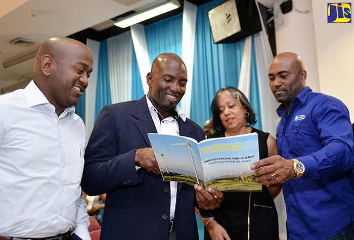 Book on Wind Energy Launched - Jamaica Information Service