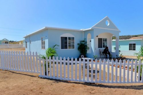 One of the newly constructed homes in the National Housing Trust's (NHT) Sandhill Vista housing development in Hellshire, St. Catherine, which were handed over to beneficiaries on February 13. A total of 60 solutions were handed over in this phase of the $1.8 billion housing development.