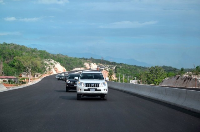 Caymanas to Linstead leg of the North-South Highway