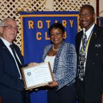 Education Minister Lauds Rotary Movement